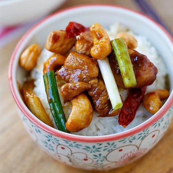 Spicey Cashew Chicken