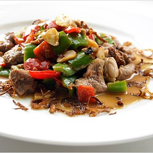Stir-fried Pork with Cincaluk