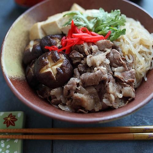 Sukiyaki Donburi