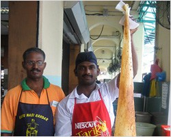 The Tallest Roti in The World: Roti Tissue