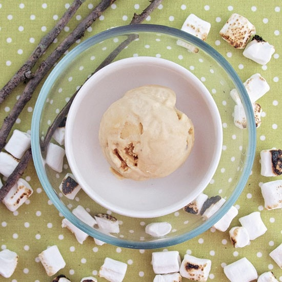 Toasted Marshmallow Ice Cream recipe from the 'Scoop Adventures: The Best Ice Cream of the 50 States.' | rasamalaysia.com