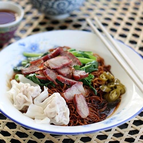 Wonton Noodles (Malaysian Wantan Mee)