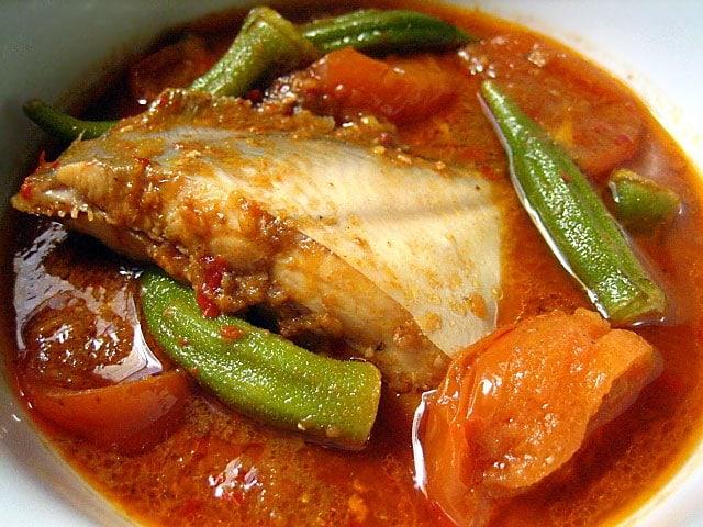 Resepi Asam Pedas Ayam Johor
