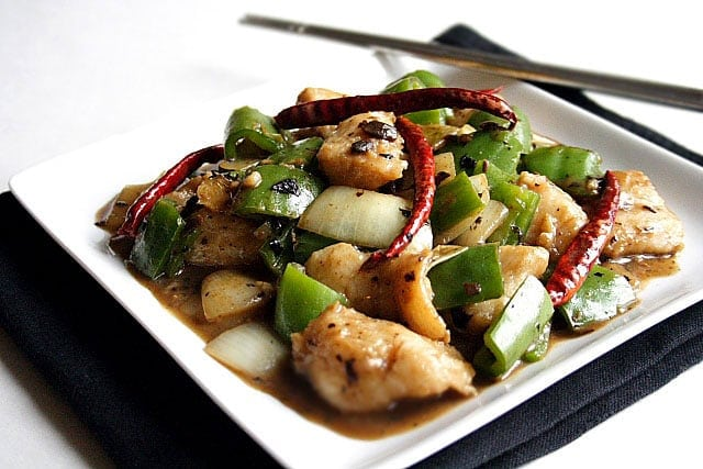 Stir Fried Fish Fillet With Black Bean Sauce Easy