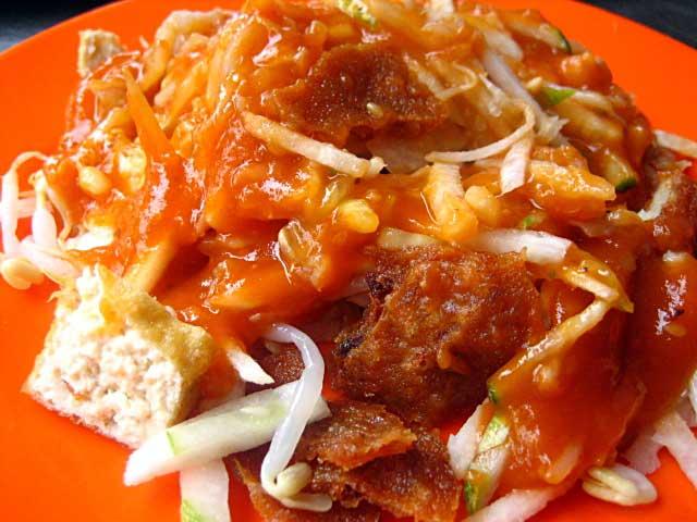 Cheh Hu / Chinese-style Rojak