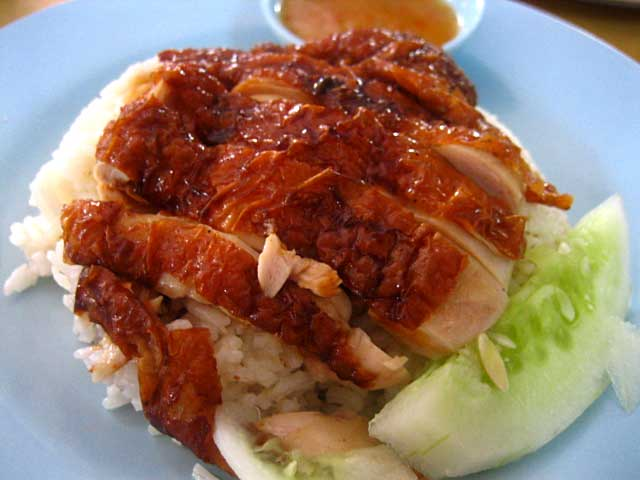 Hainanese Chicken Rice / Chicken Rice