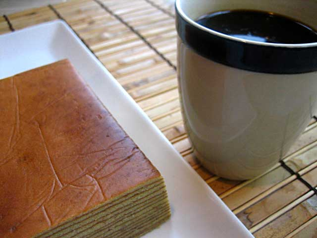 Coffee and Layer Cake