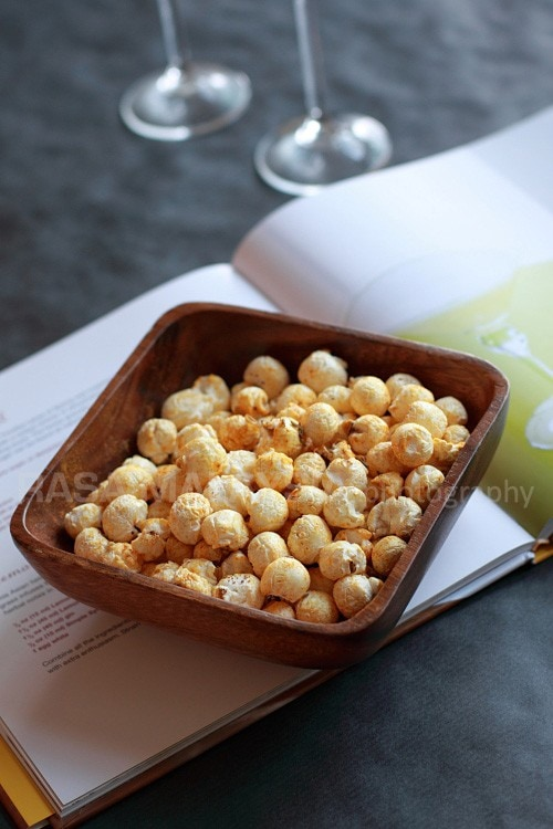 Curry Popcorn Recipe
