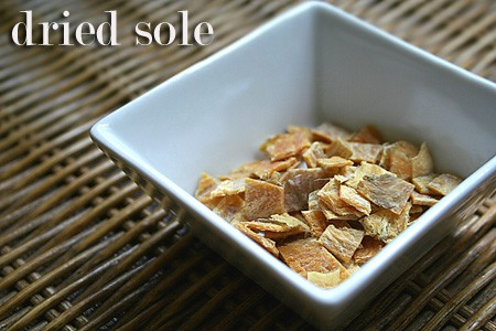 Dried Sole