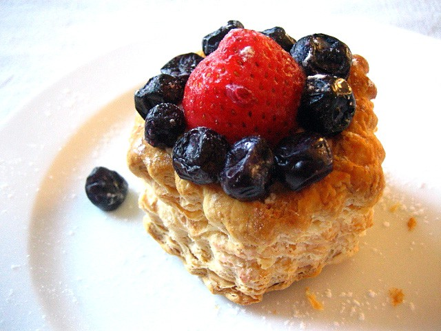 Strawberry and Blue Berries Tarts