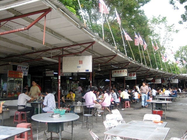Hawker Center in Georgetown, Penang