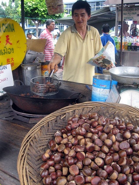 Roasted Chestnut / Lat Chee Hawker