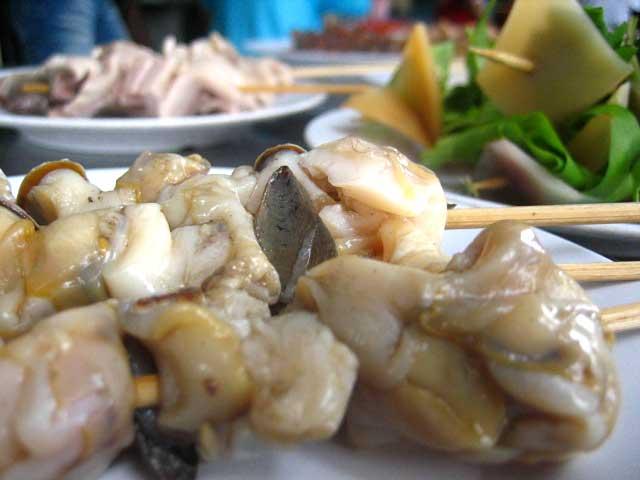 Seafood Skewers / Lok Lok