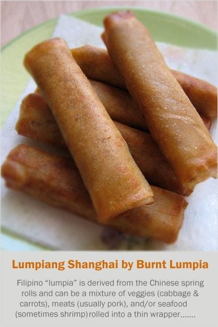 Lumpiang Shanghai (Filipino Spring Rolls)