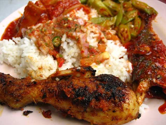 Nasi Campur / Malay Food