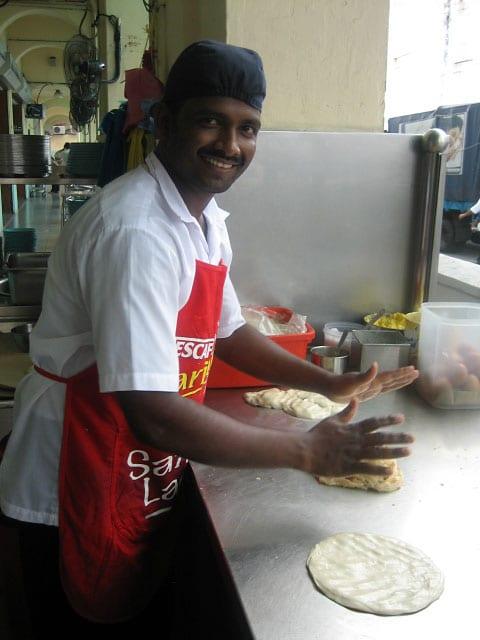 Roti Canani at Kayu Restaurant, Penang