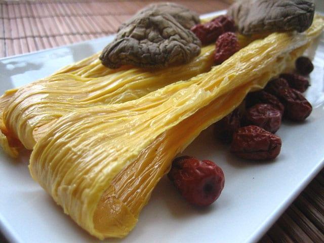 Bean Curd Sticks (Teik Gah Kee or Foo Chuk)