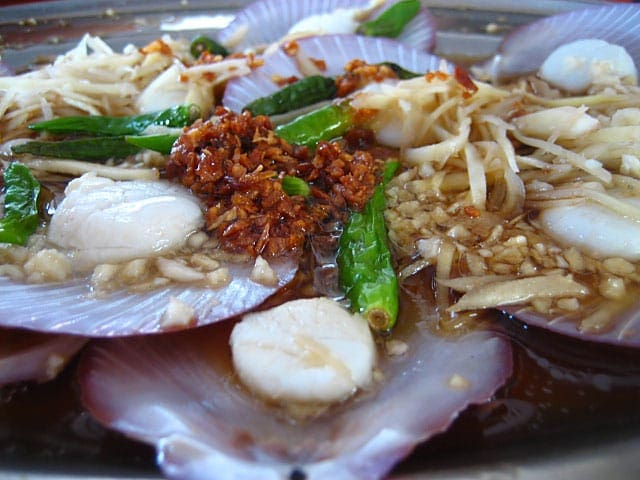 Steamed Scallops, Bukit Tambun