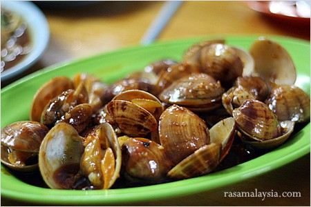 Sweet and Sour Clams
