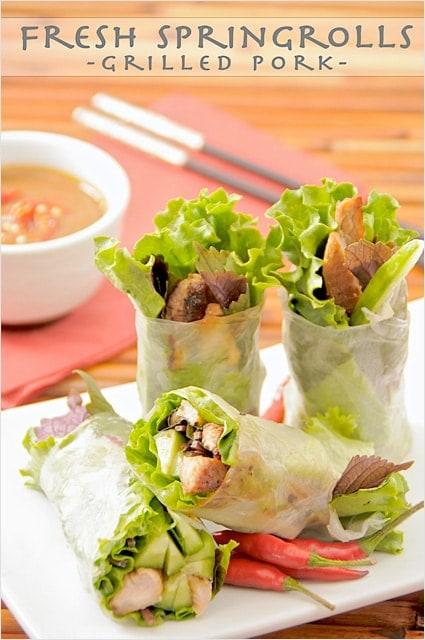 Goi Cuon (Vietnamese Spring Rolls)
